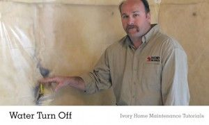 Water Main Home Maintenance Tutorials