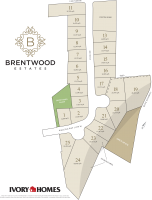 Plat Map of East Brentwood Estates