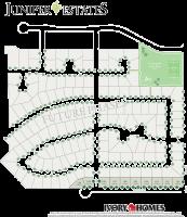 Subdivision Map of Juniper Estates
