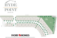 Plat Map of Hyde Point