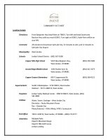 Hyde Point Fact Sheet of Hyde Point