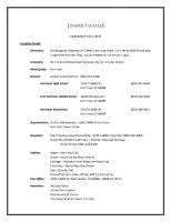 Juniper Estates Fact Sheet of Juniper Estates