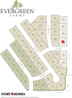 plot map of Evergreen Farms